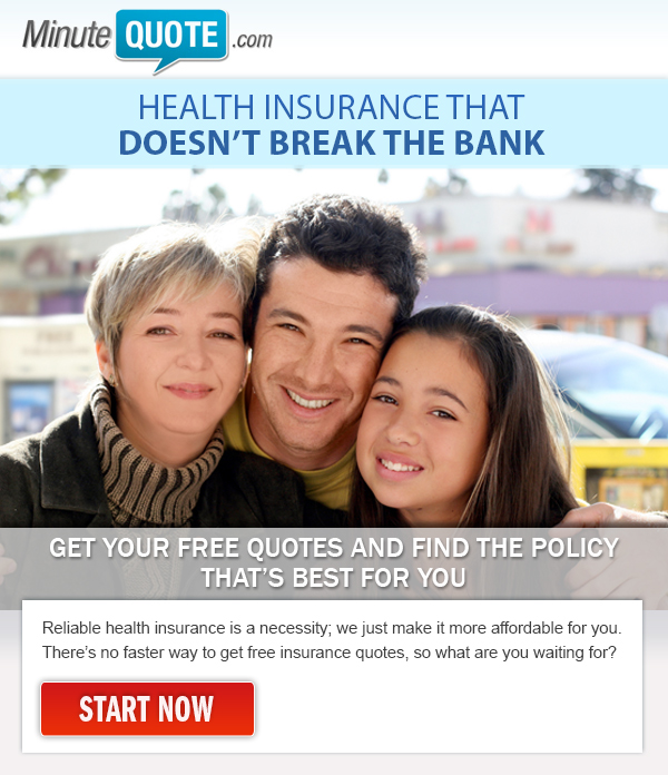 Minute Quote Better than Obamacare Email Campaign - Template Design By Heidy Gomez
