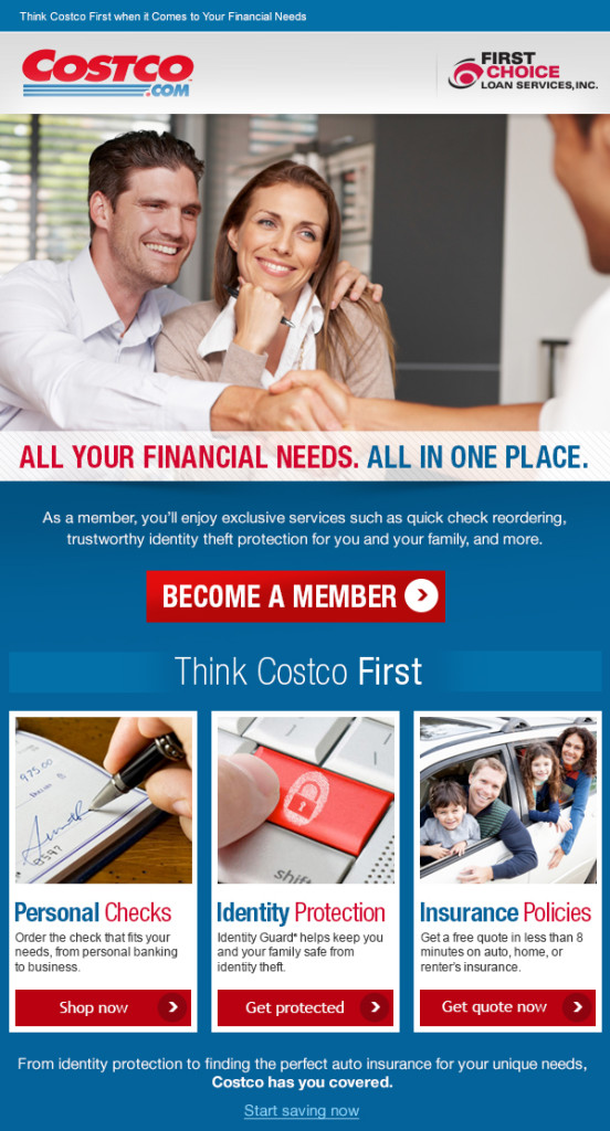 Costco One Stop Email Campaign - Template Design By Heidy Gomez