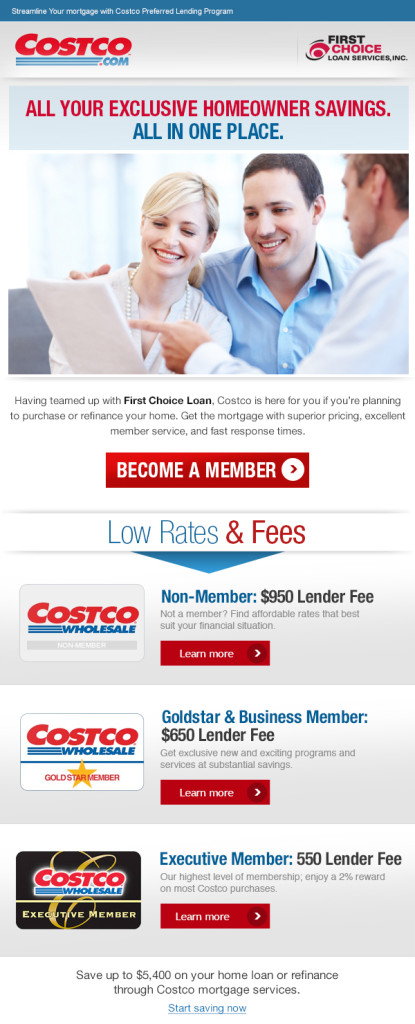 Costco One Stop Email Campaign – Template Design By Heidy Gomez